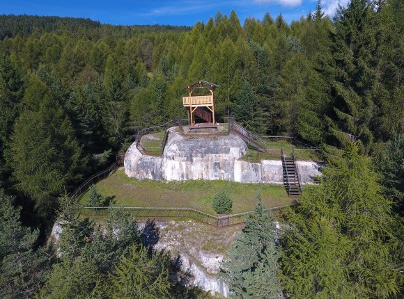 Touristische Aufwertung des Bunkers in Spinges