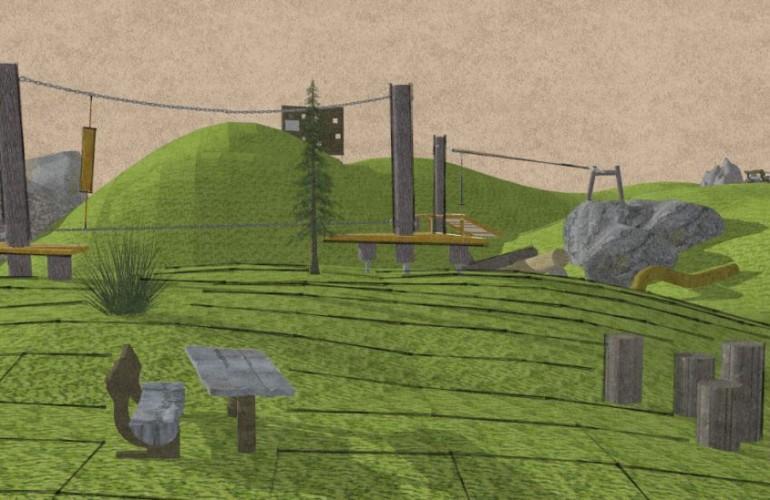 Kletter- und Balancierstrukturen